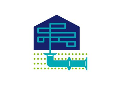 Milwaukee Water Works Icon – Water Main Line
